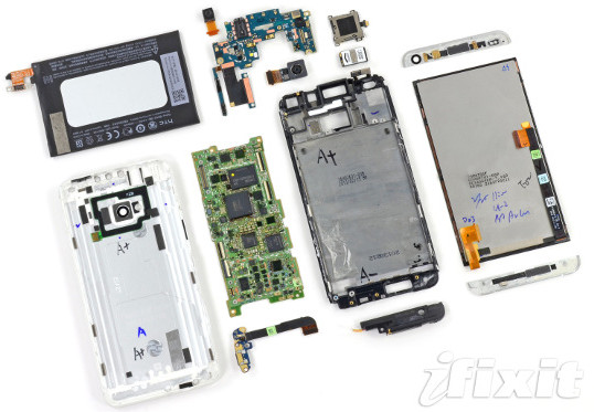 HTC One's Great Build but Terrible Repairability