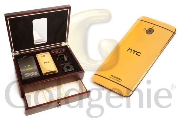 24-carat Gold HTC One, anyone?