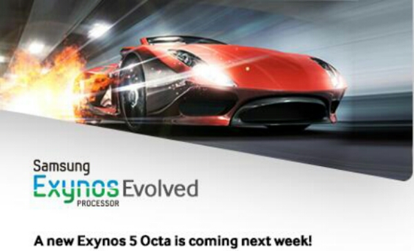 Samsung reveals Evolved Exynos 5 Octa, maybe coming for Galaxy Note III