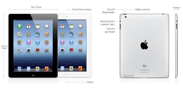 Apple iPad 4 with Retina Display 128GB (Wi-Fi) Price in ...Ipad Mini Retina Specs