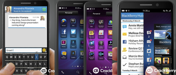 BlackBerry A10 specs | TechNave