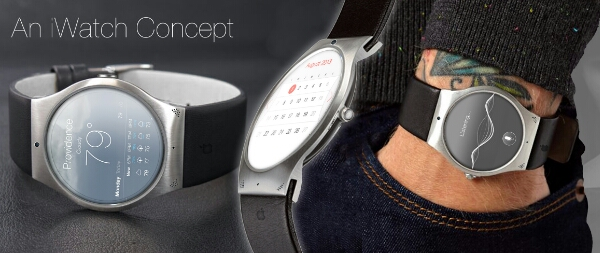 Realistic Apple iWatch concept render appears