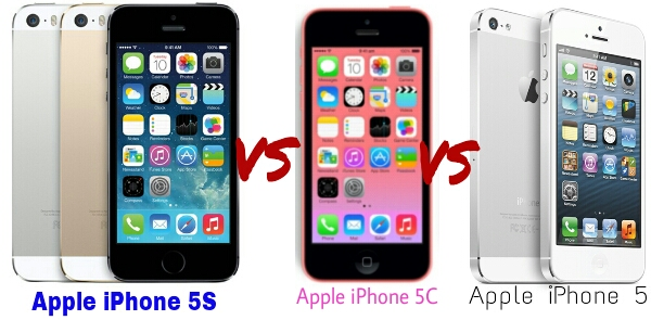 Apple iPhone 5 Showdown: iPhone 5S vs iPhone 5C vs iPhone 5