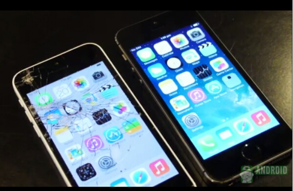 Apple iPhone 5S and iPhone 5C go through Drop Test
