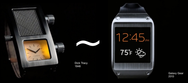 Watch some cool Samsung Galaxy Gear ads!