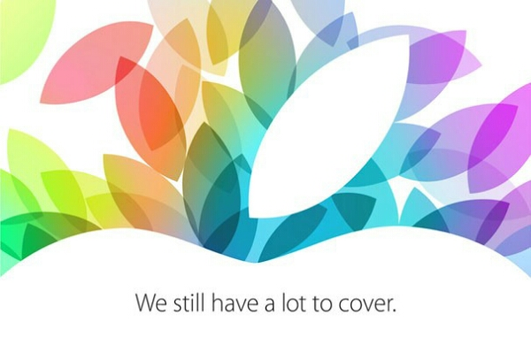 Apple event for 22 October confirmed, Apple iPads and more coming soon?