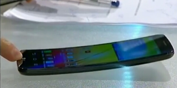 LG G Flex curved smartphone makes video appearance