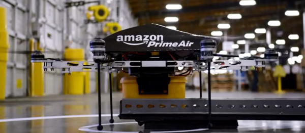 Amazon Prime Air Octa-copter drones may soon do deliveries