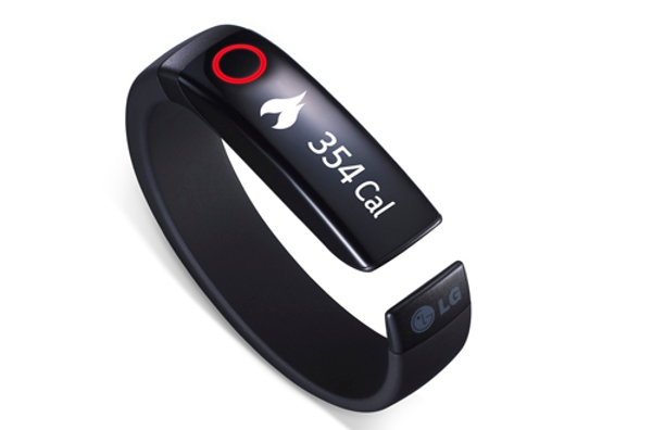 LG announces smart wearables with Lifeband Touch smartband and Heart Rate Earphones