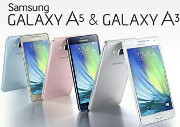 Samsung Galaxy A5 and Galaxy A3 officially announced, 64bit