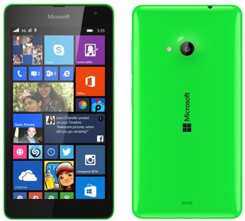 lumia 535 dual sim цена
