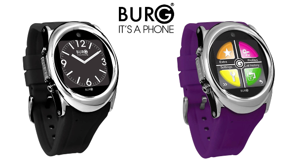 Make calls with the Burg 12 smartwatch, no smartphone needed