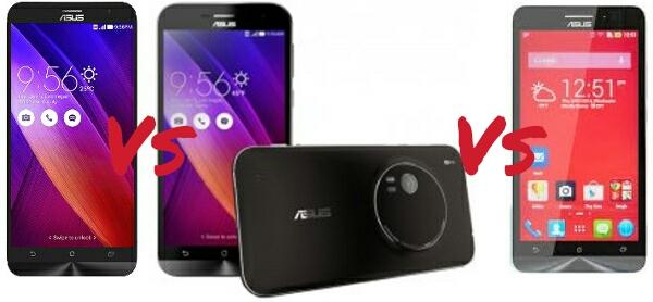 ASUS ZenFone 2 Vs Zoom 6 Comparison