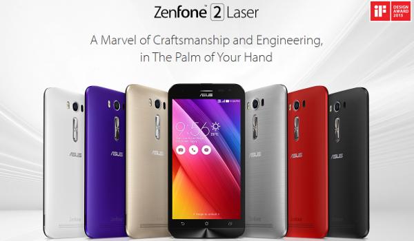 ASUS Announces Range Of ZenFone 2 Laser Smartphones