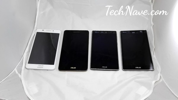 A video evolution in design of the ASUS Fonepad 7 to the ASUS ZenPad 7.0