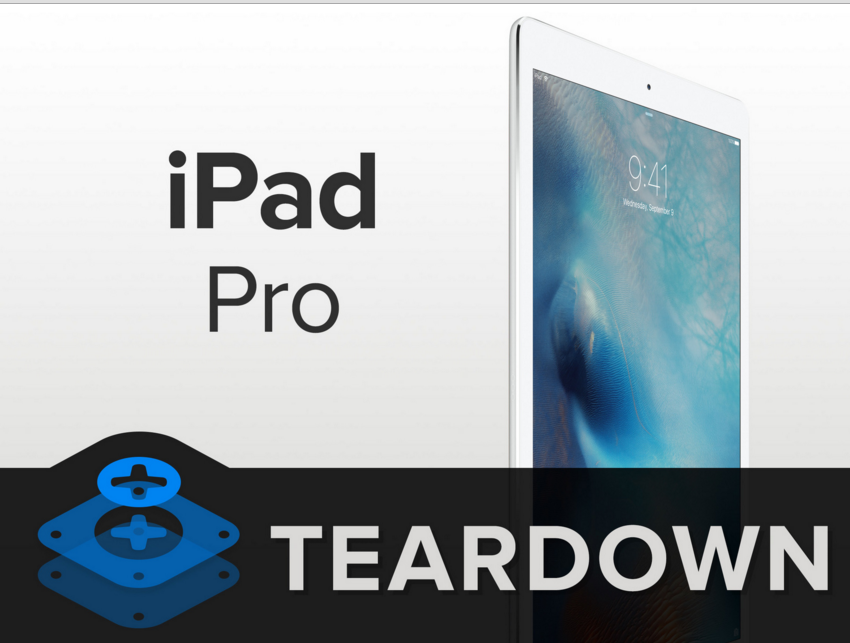 iFixit gives 3/10 rating for Apple iPad Pro on repairability