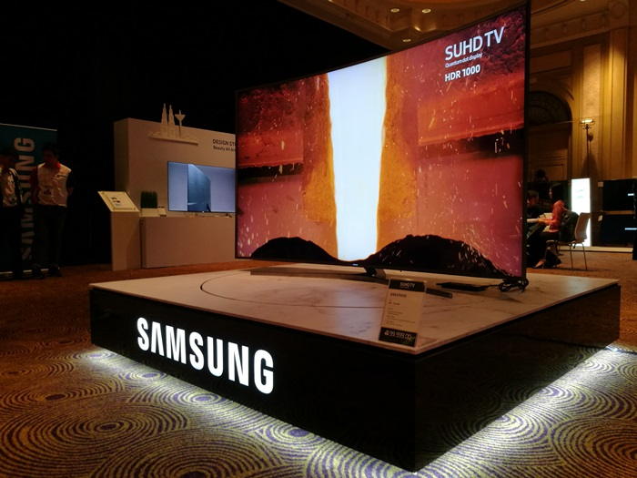 Samsung introduces the Premium Soundbar with Dolby Atmos at KL International AV Show