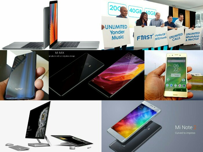 Weekly TechNave - Xiaomi Mi MIX, Mi Note 2, Apple MacBook Pro and more