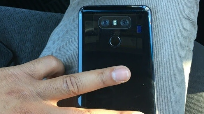 Rumours: Alleged photo of LG G6 reveals shiny back?