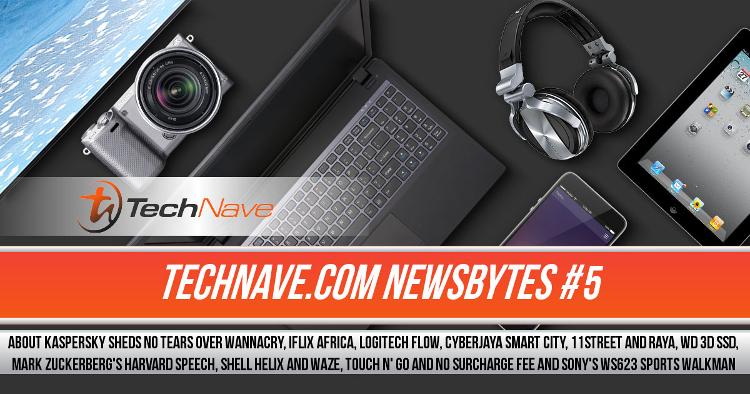 TechNave NewsBytes #5 - About Kaspersky WannaCry, iFlix