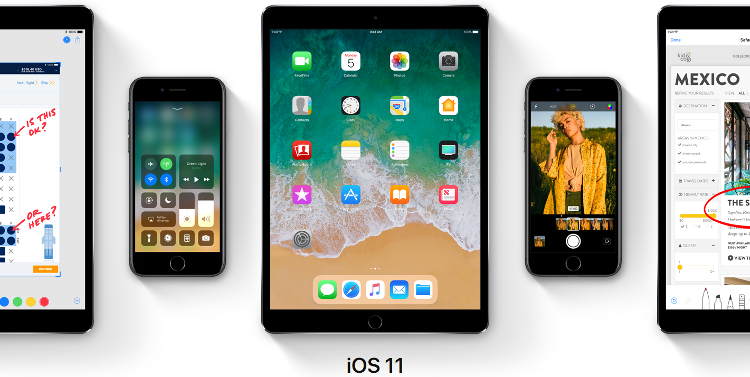 Apple announces iOS 11 with many new features and improvements