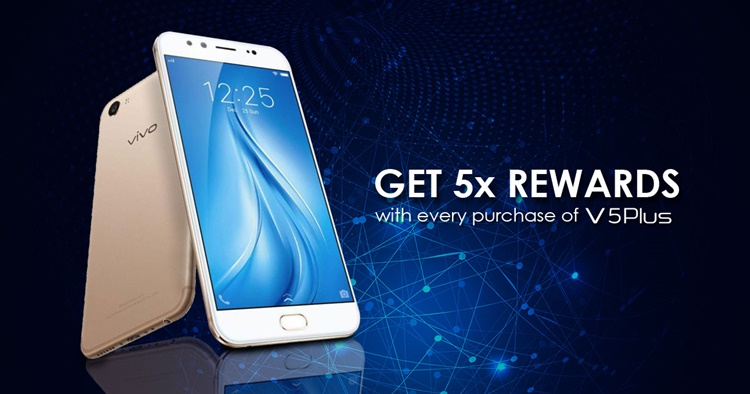 vivo Malaysia giving away premium free gifts with V5Plus 5x Rewards promotion