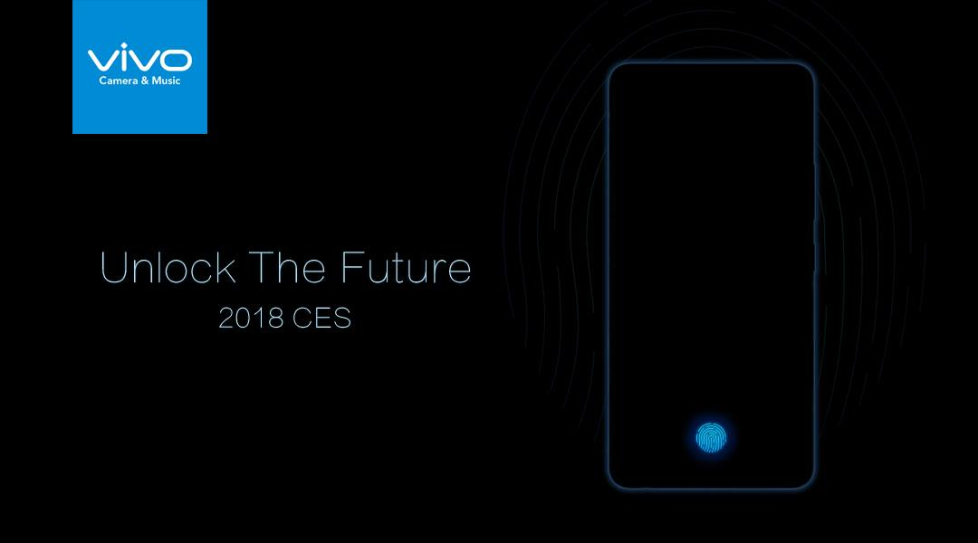 Vivo Showcases Its In-Display Fingerprint Scanning Smartphone at CES 2018