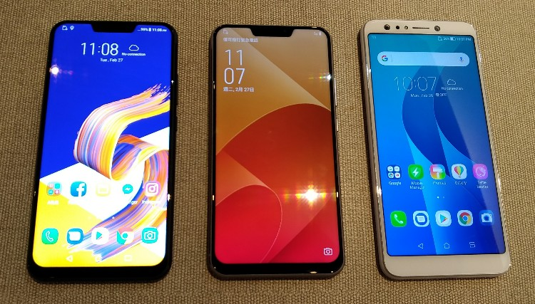 ASUS ZenFone 5 ZE620KL and ZenFone 5 Lite ZC600KL hands-on first looks and camera samples