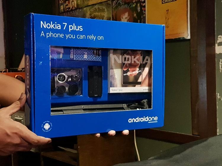 Nokia 7 Plus 赠品