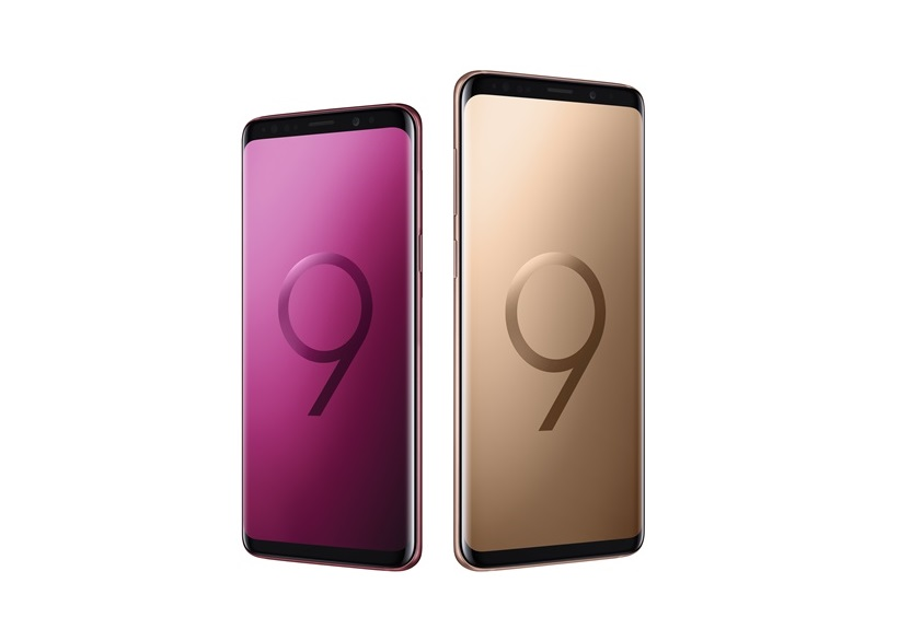 Samsung introduces two new Galaxy S9 colors