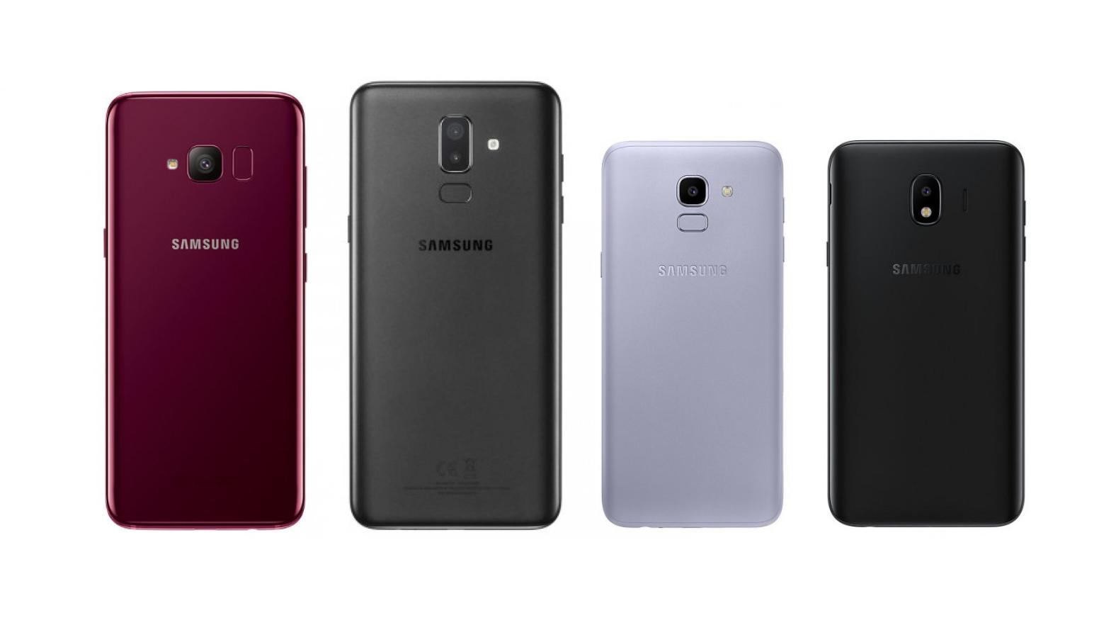 Samsung Galaxy S Light Luxury, Galaxy J8, Galaxy J6 And Galaxy J4 Revealed  Starting
