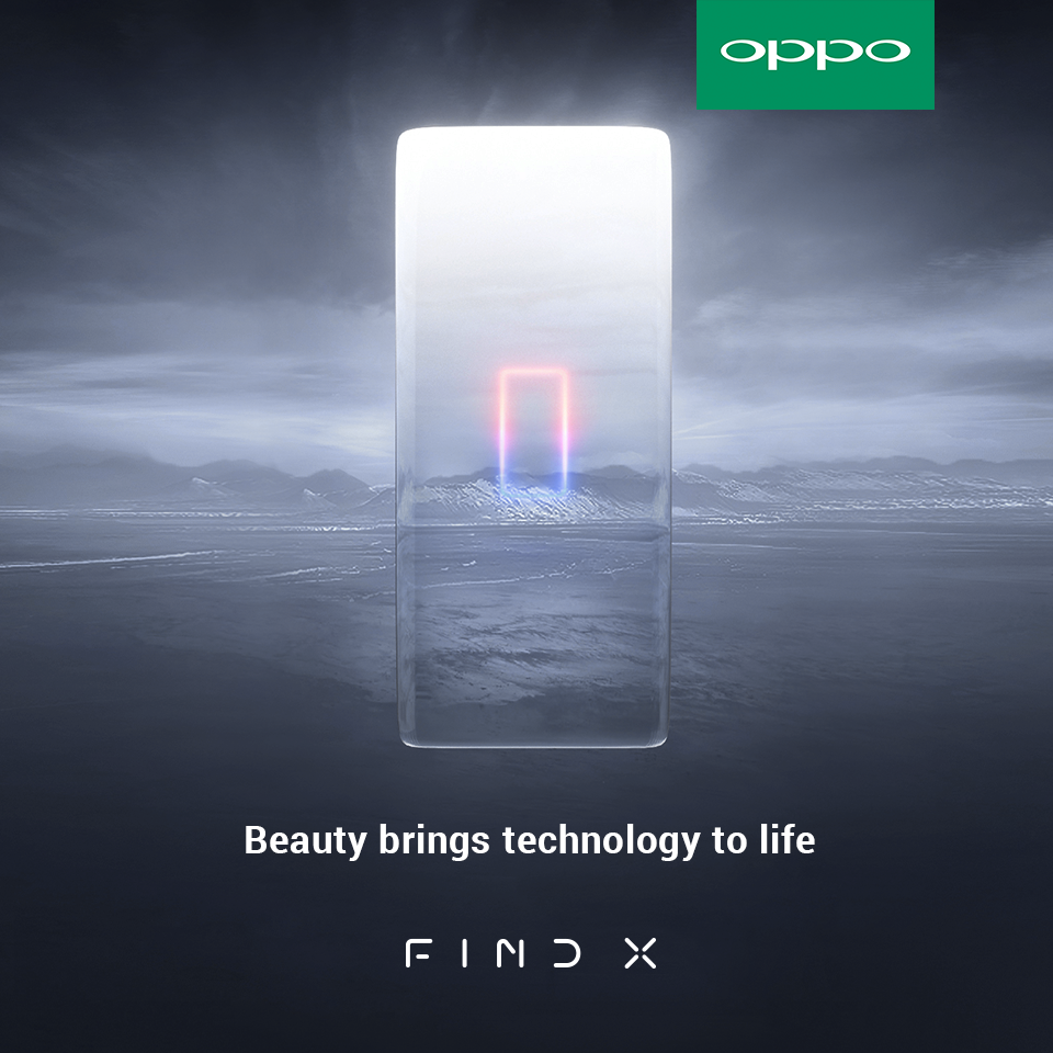 OPPO Find X's dual curved edge display is said to be 6.42-inch