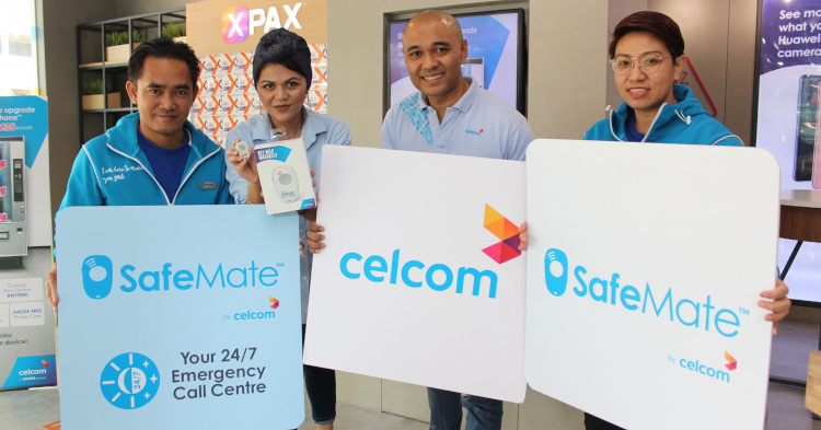 Celcom announces the SafeMate which is the first Emergency Response Sidekick in Malaysia