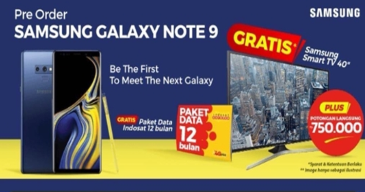 Samsung Galaxy Note 9 price leak from Indonesia starting from ~RM3812