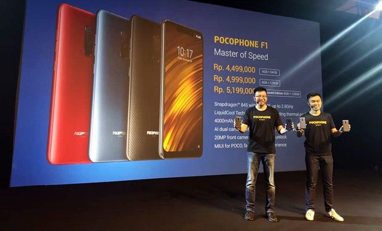 Updated Pocophone F1 By Xiaomi Unveiled With Flagship Tech Specs And More From A Starting Price Of Rm1237 Technave