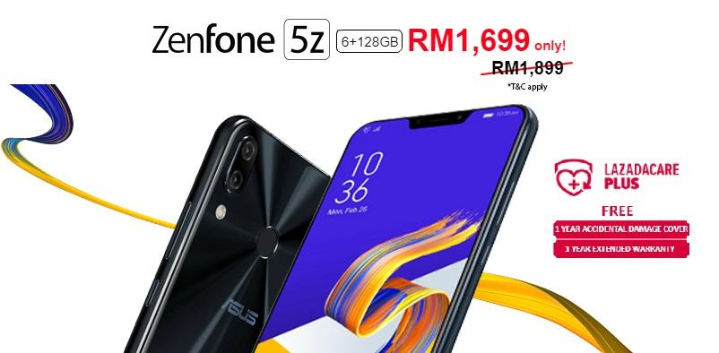timeless design 081ba 398b2 ASUS ZenFone 5z and ZenFone Max Pro M1 flash sale happening on ...
