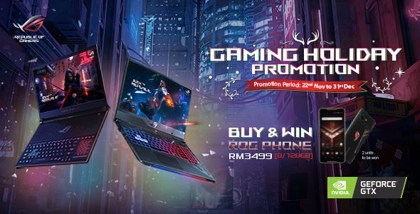 Stand a chance to win an ASUS ROG Phone worth RM3499 until 31 December 2018