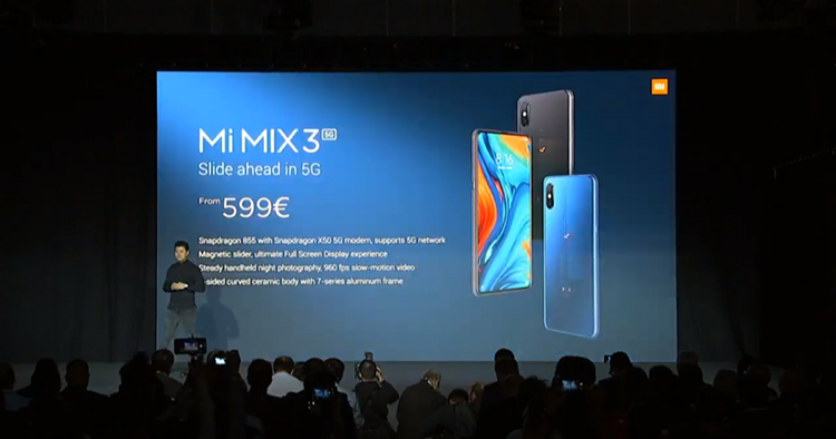 MWC 2019: Xiaomi launches 5G handset range