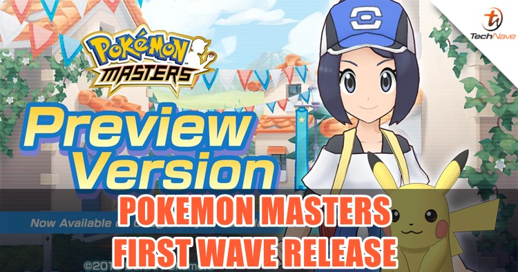 TechNave Gaming: Pokémon Masters now live (but not in Malaysia yet)