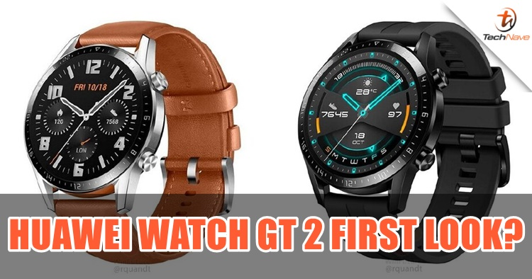 New leak on the Huawei Watch GT 2 first look
