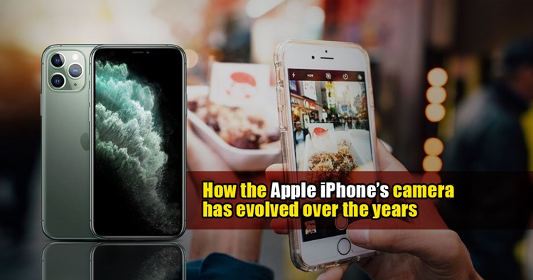 How the Apple iPhone's camera evolved over the years