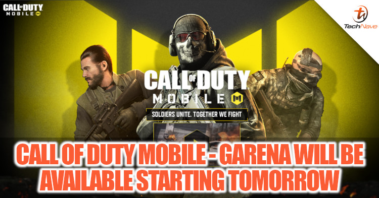 TechNave - Call of Duty Mobile - Garena is officially available tomorrow on both Android and iOS devices