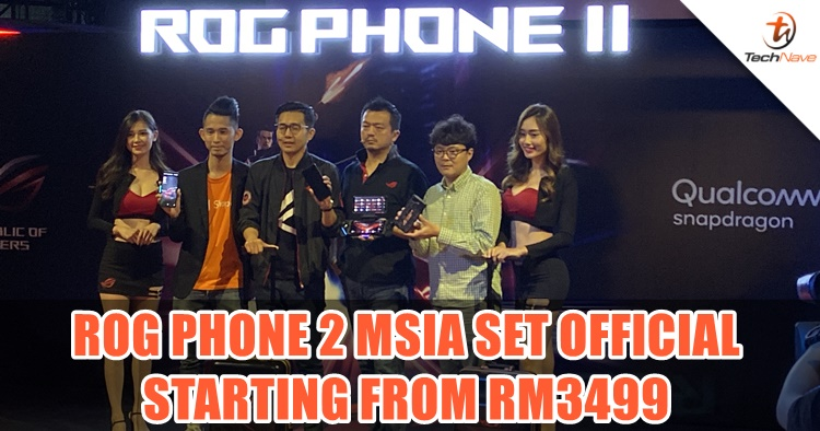 ROG Phone 2 Malaysia edition w/ 12GB + 512GB, 6000mAh batt now available starting from RM3499
