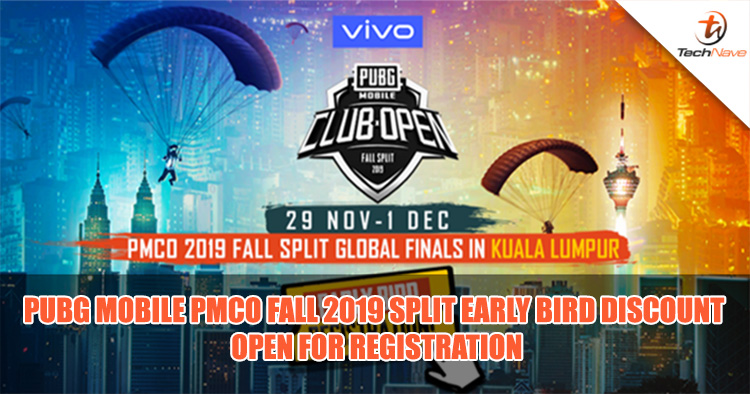 Get 20% off PUBG Mobile PMCO 2019 fall split tickets when you register for early bird deals