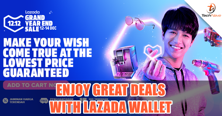 Now you can use your Lazada Wallet to pay at physical stores and enjoy discounts up to 90%