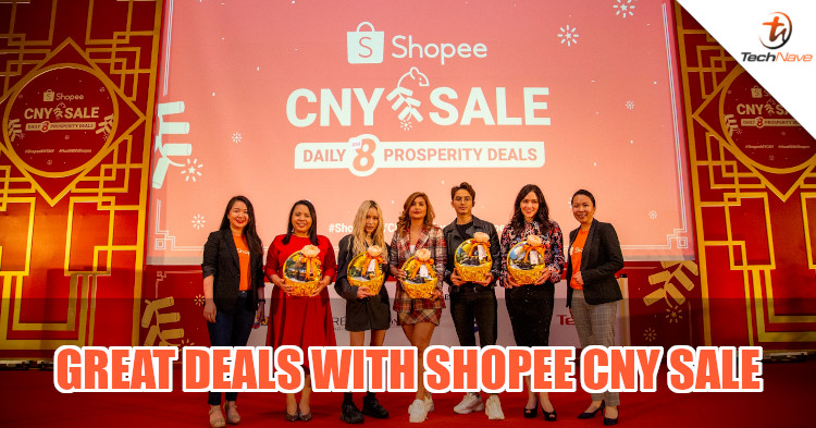 Shopee Huatever sale is here to liven up CNY, will have 10g gold bars for RM1