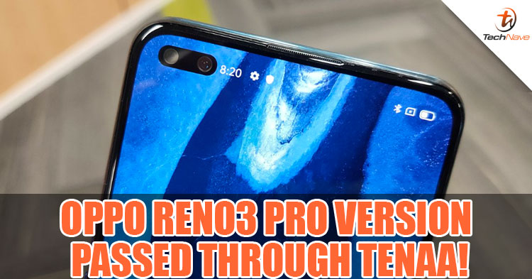OPPO Reno 3 Pro spotted on TENAA with Snapdragon 765G and 8GB of RAM!