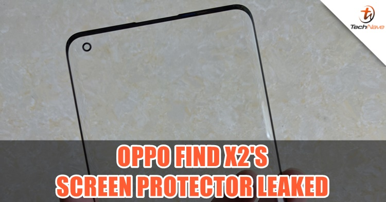 This is how the OPPO Find X2's screen going to look like