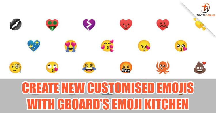 New emoji mashup stickers on Google's Gboard