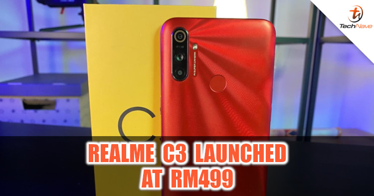 realme C3 Malaysia release: 5000mAh battery and triple rear camera at RM499